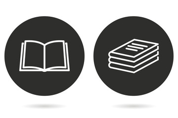 Book - vector icon.