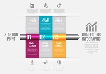 Goal Timeline Infographic