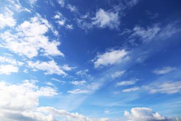 Sky in clouds