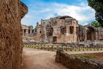 Resti e rovine di villa Adriana, Tivoli