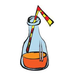 cartoon fizzy drink bottle,
