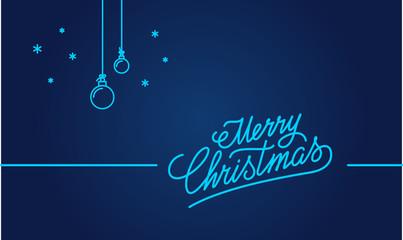 Christmas Hand Greeting card