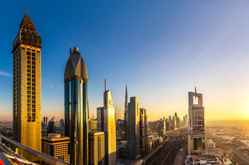 Panorama of Dubai