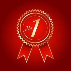 No. 1 Rosette Vector