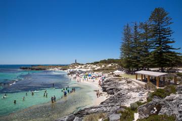 Rottnest Island in Western Australia.