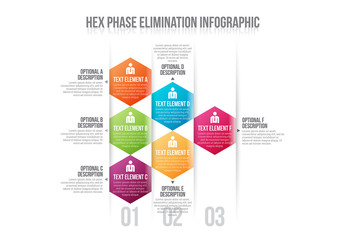 Hexagonal Tile Infographic 1