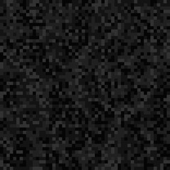 Abstract black pixel background