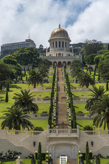 The Bahai gardens in Haifa, Israel