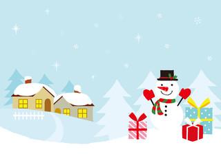 Photo sur Plexiglas クリスマス イラスト