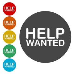 Help Wanted Sign icon
