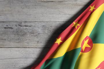 Grenada flag waving