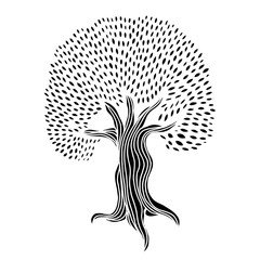 Tree Hand drawn