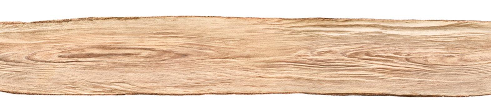 Holzbalken, naturbelassen, im breiten Panorama Format als Banner