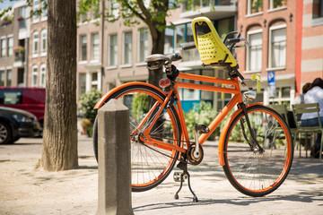 bike in summer