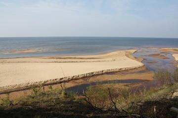Seascape in Latvia.