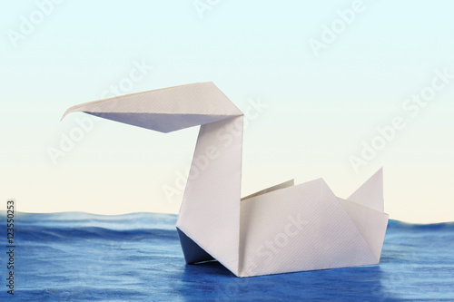 Origami Paper Pelican Stock Photo And Royalty Free Images On