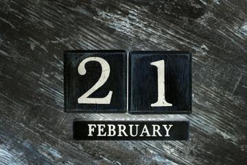 Şubat 21th