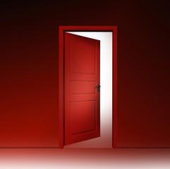 Tür ins Zimmer