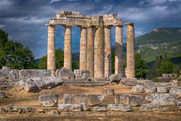 Zeus Tempel von Nemea.  Griechenland, Peloponnes,16140.jpg