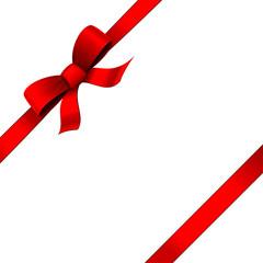 Ruban rouge - Cadeau