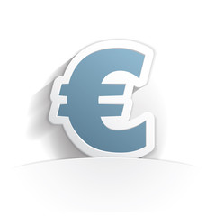 euro icon paper