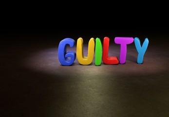 Guilty, Design, 3D
