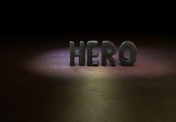 Hero, Design, 3D
