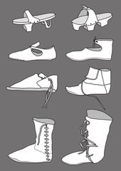 Footwear_13th_century