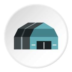 Garage storage icon. Flat illustration of garage storage vector icon for web