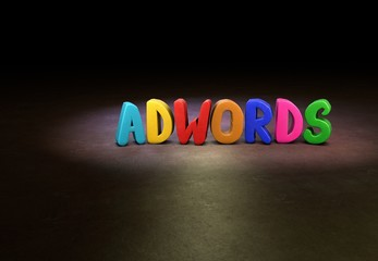 Adwords, Internet, Design, 3D
