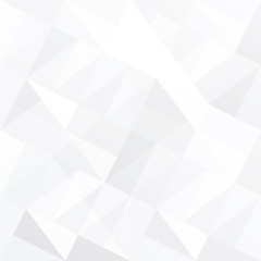 White triangle background abstract