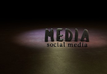 Social Media, Internet, Design, 3D