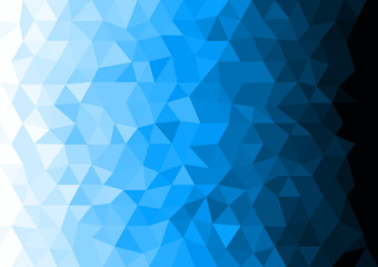 Ice Polygonal Mosaic Background