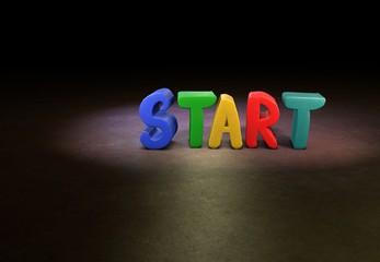 Start, Designer, 3D