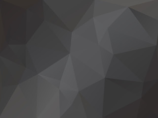 Dark Abstract Background Triangular Triangle Vector