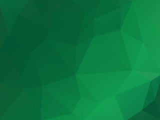 Green Abstract Background Triangular Triangle Vector