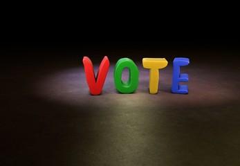 Vote, Designer, 3D