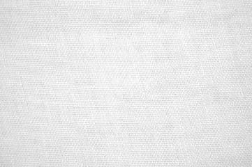 Weiße Textur aus Leinenstoff