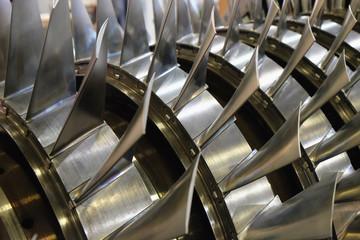blades of the gas turbine
