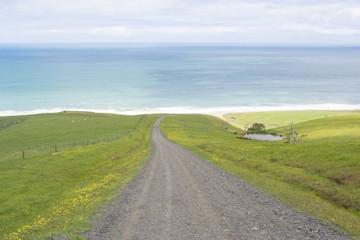 Coastal View, Road to Tunkalilla Beach, Fleurieu Peninsula, SA
