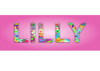 Vorname Lilly, Grafik