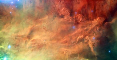 Lagoon Nebula, Messier 8 in the constellation Sagittarius.