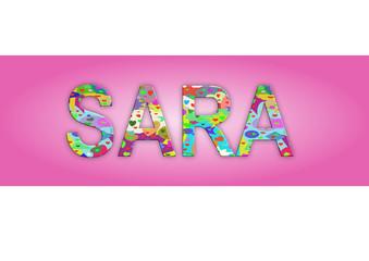 Vorname Sara, Grafik
