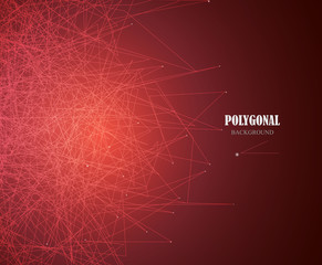 Abstract business science or technology gold background. Web design. Vector