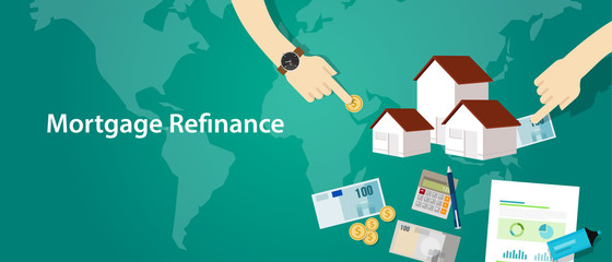 mortgage refinance home house loan debt