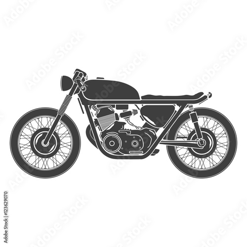 """free vintage motorcycle images  classic vintage motorcycle, cafe racer theme"""" Stock image and ..."""