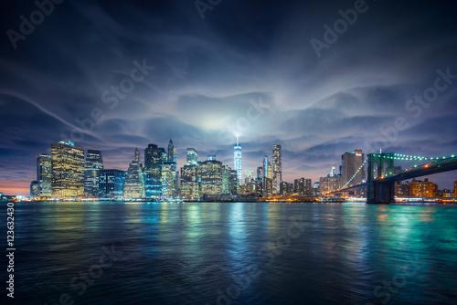 Wall mural New-York apocalypse