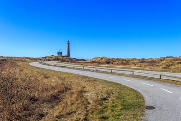 Straße zum Leuchtturm Skagen