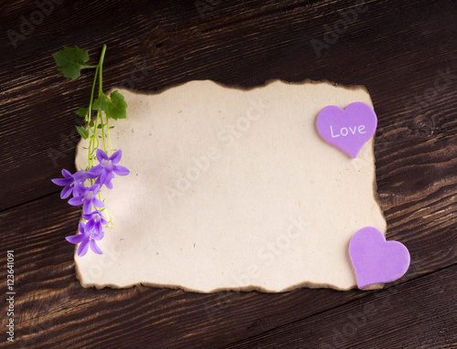 romantic letters for her quot stack of letters on rustic wooden planks background 1578