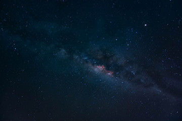 The Galaxy Milky Way, Long exposure astronomical photograph of the nebula Cygnus it taken at the gulf of Thailand.